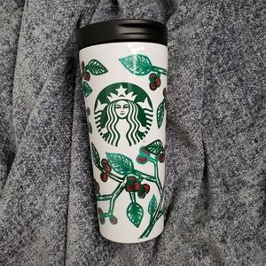 16 oz Starbucks Holly cup